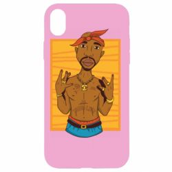 Чохол для iPhone XR Singer Tupac Shakur