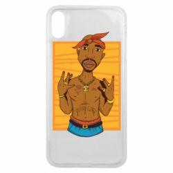 Чохол для iPhone Xs Max Singer Tupac Shakur