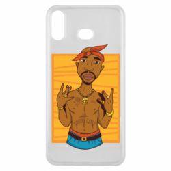 Чохол для Samsung A6s Singer Tupac Shakur