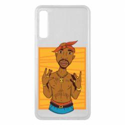 Чохол для Samsung A7 2018 Singer Tupac Shakur