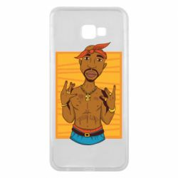 Чохол для Samsung J4 Plus 2018 Singer Tupac Shakur