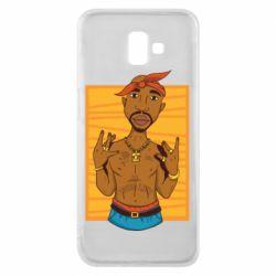 Чохол для Samsung J6 Plus 2018 Singer Tupac Shakur