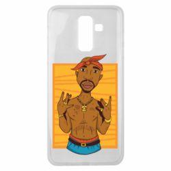 Чохол для Samsung J8 2018 Singer Tupac Shakur