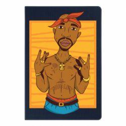 Блокнот А5 Singer Tupac Shakur
