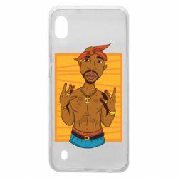Чохол для Samsung A10 Singer Tupac Shakur