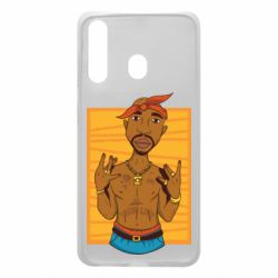 Чохол для Samsung A60 Singer Tupac Shakur