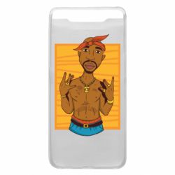 Чохол для Samsung A80 Singer Tupac Shakur