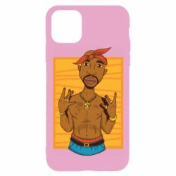 Чохол для iPhone 11 Pro Singer Tupac Shakur