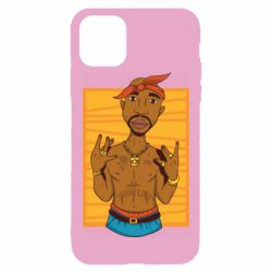 Чохол для iPhone 11 Pro Max Singer Tupac Shakur
