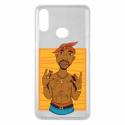 Чохол для Samsung A10s Singer Tupac Shakur