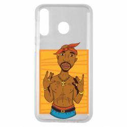 Чохол для Samsung M30 Singer Tupac Shakur