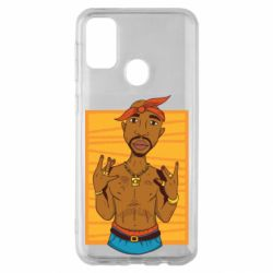 Чохол для Samsung M30s Singer Tupac Shakur