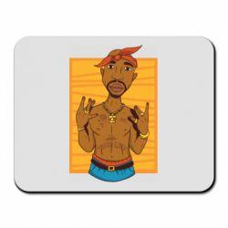 Килимок для миші Singer Tupac Shakur