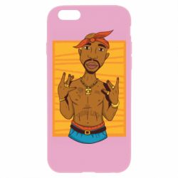 Чохол для iPhone 6/6S Singer Tupac Shakur