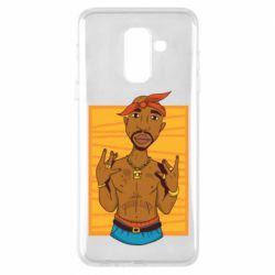 Чохол для Samsung A6+ 2018 Singer Tupac Shakur