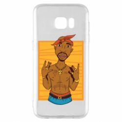 Чохол для Samsung S7 EDGE Singer Tupac Shakur