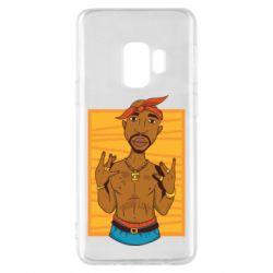 Чохол для Samsung S9 Singer Tupac Shakur