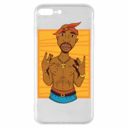 Чохол для iPhone 8 Plus Singer Tupac Shakur