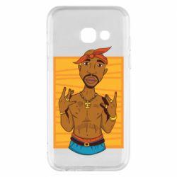 Чохол для Samsung A3 2017 Singer Tupac Shakur