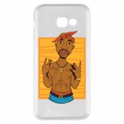 Чохол для Samsung A5 2017 Singer Tupac Shakur