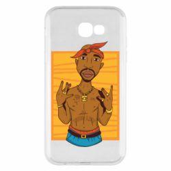 Чохол для Samsung A7 2017 Singer Tupac Shakur