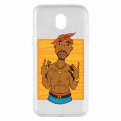Чохол для Samsung J5 2017 Singer Tupac Shakur