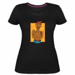 Жіноча стрейчева футболка Singer Tupac Shakur