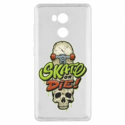 Чохол для Xiaomi Redmi 4 Pro/Prime Skate or die skull - FatLine