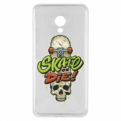Чохол для Meizu M5 Skate or die skull - FatLine