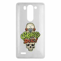 Чохол для LG G3 Mini/G3s Skate or die skull - FatLine