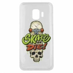 Чохол для Samsung J2 Core Skate or die skull