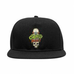 Снепбек Skate or die skull