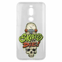 Чохол для Meizu X8 Skate or die skull - FatLine