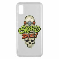 Чохол для Xiaomi Mi8 Pro Skate or die skull