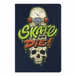 Блокнот А5 Skate or die skull