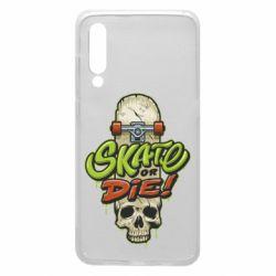 Чохол для Xiaomi Mi9 Skate or die skull