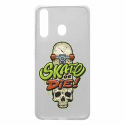 Чохол для Samsung A60 Skate or die skull