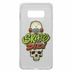 Чохол для Samsung S10e Skate or die skull