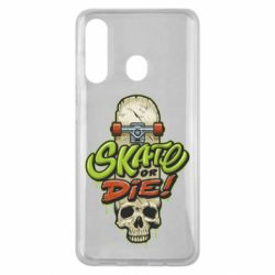 Чохол для Samsung M40 Skate or die skull