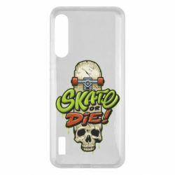 Чохол для Xiaomi Mi A3 Skate or die skull