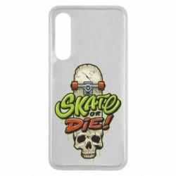 Чохол для Xiaomi Mi9 SE Skate or die skull