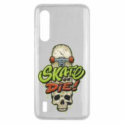 Чохол для Xiaomi Mi9 Lite Skate or die skull