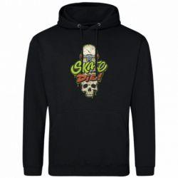 Чоловіча толстовка Skate or die skull
