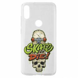 Чохол для Xiaomi Mi Play Skate or die skull