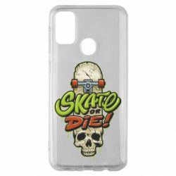 Чохол для Samsung M30s Skate or die skull
