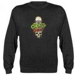 Реглан (світшот) Skate or die skull