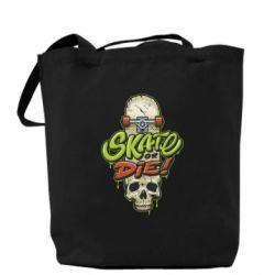 Сумка Skate or die skull