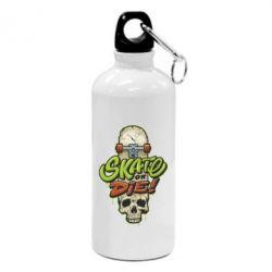 Фляга Skate or die skull