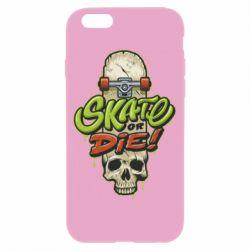 Чохол для iPhone 6/6S Skate or die skull