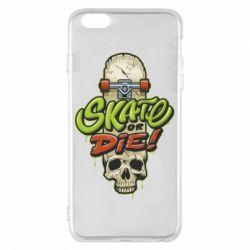 Чохол для iPhone 6 Plus/6S Plus Skate or die skull